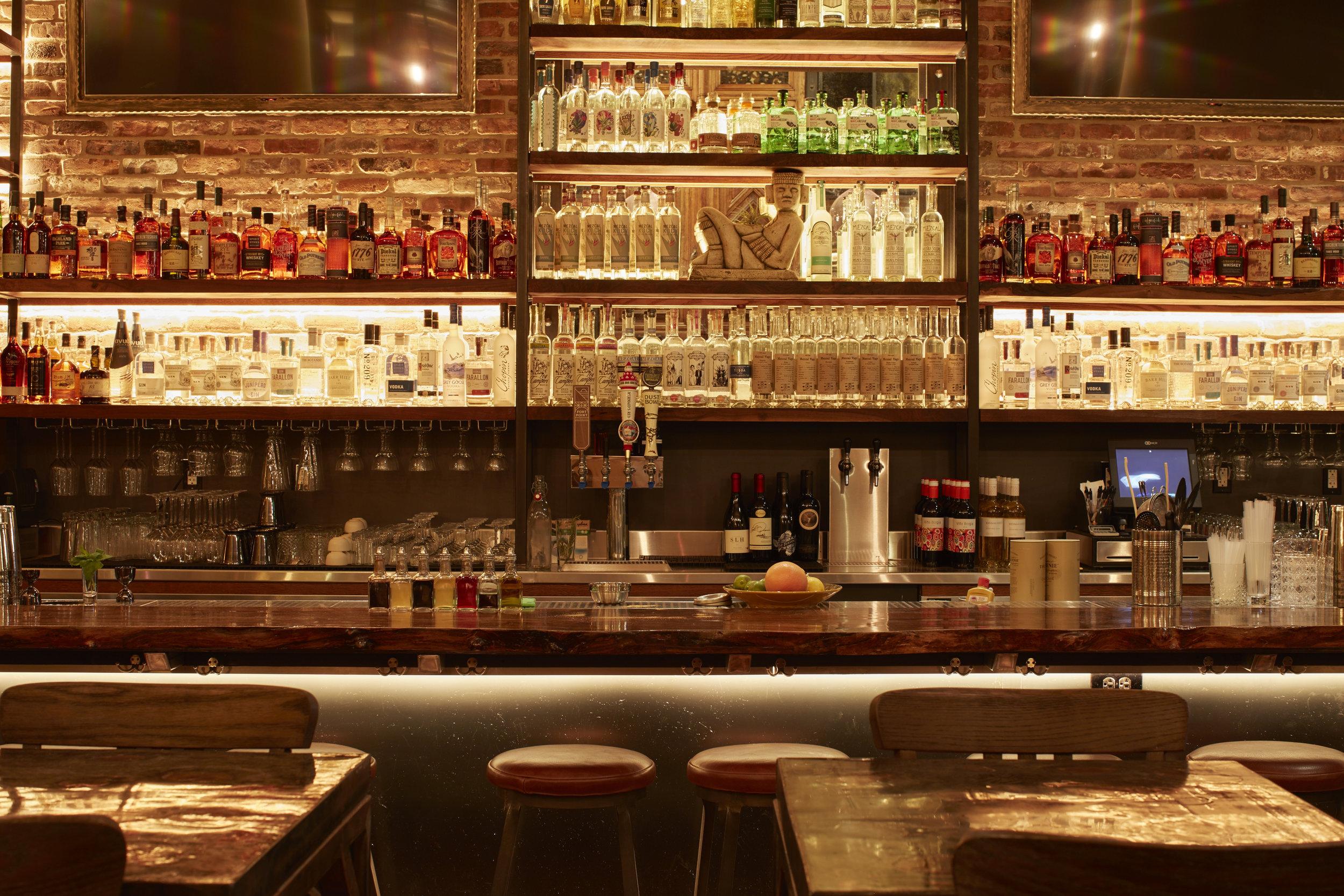 Bar at Mezcalito