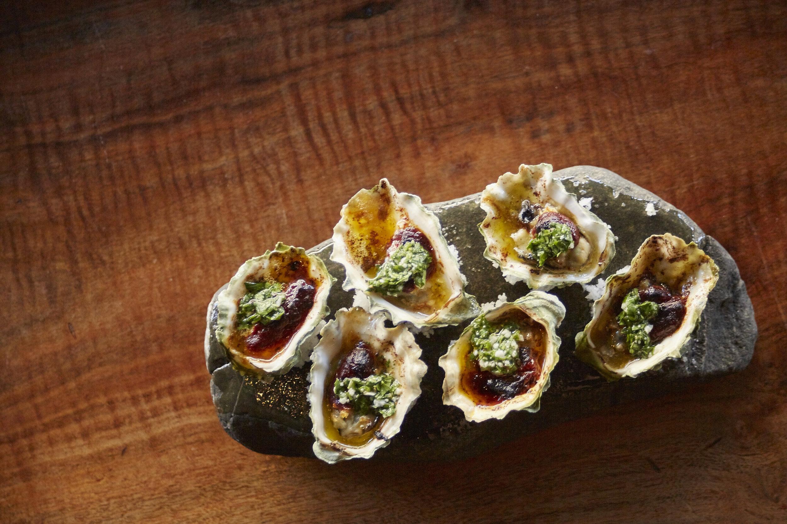 Chorizo Oysters