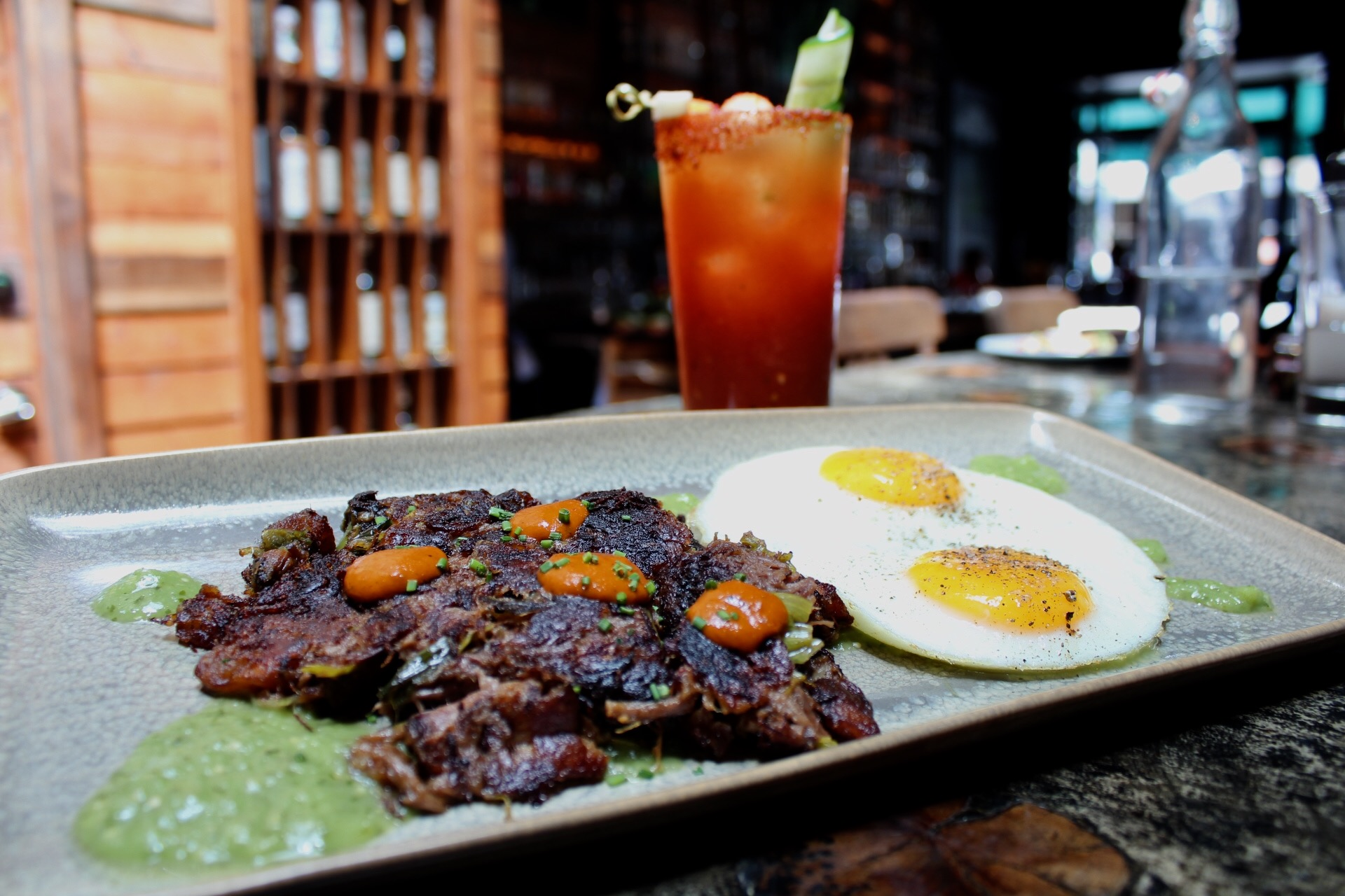 Mezcalito breakfast dish
