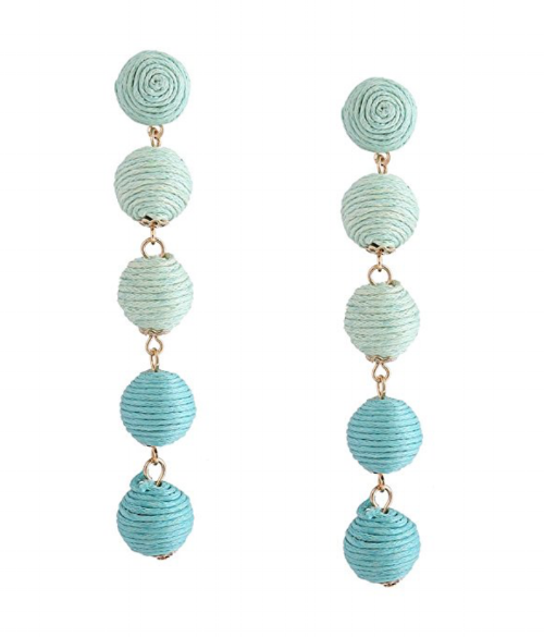 You can't beat $7 earrings like this. This is a great substitution if you don't want to spend the money on the ones below.