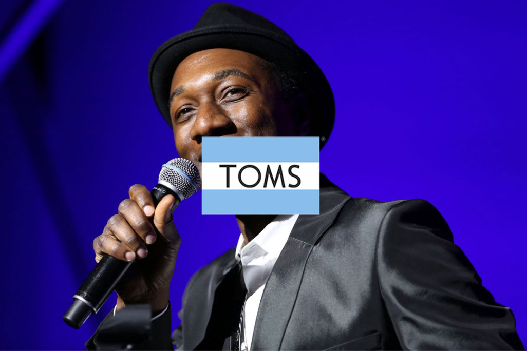Aloe Blacc for TOMS 'Day Without Shoes'
