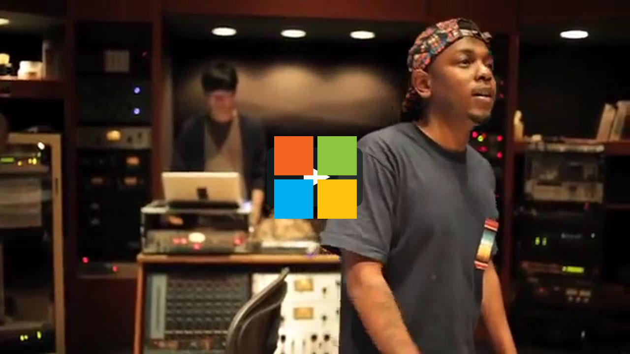 Kendrick Lamar x Nosaj Thing for Microsoft