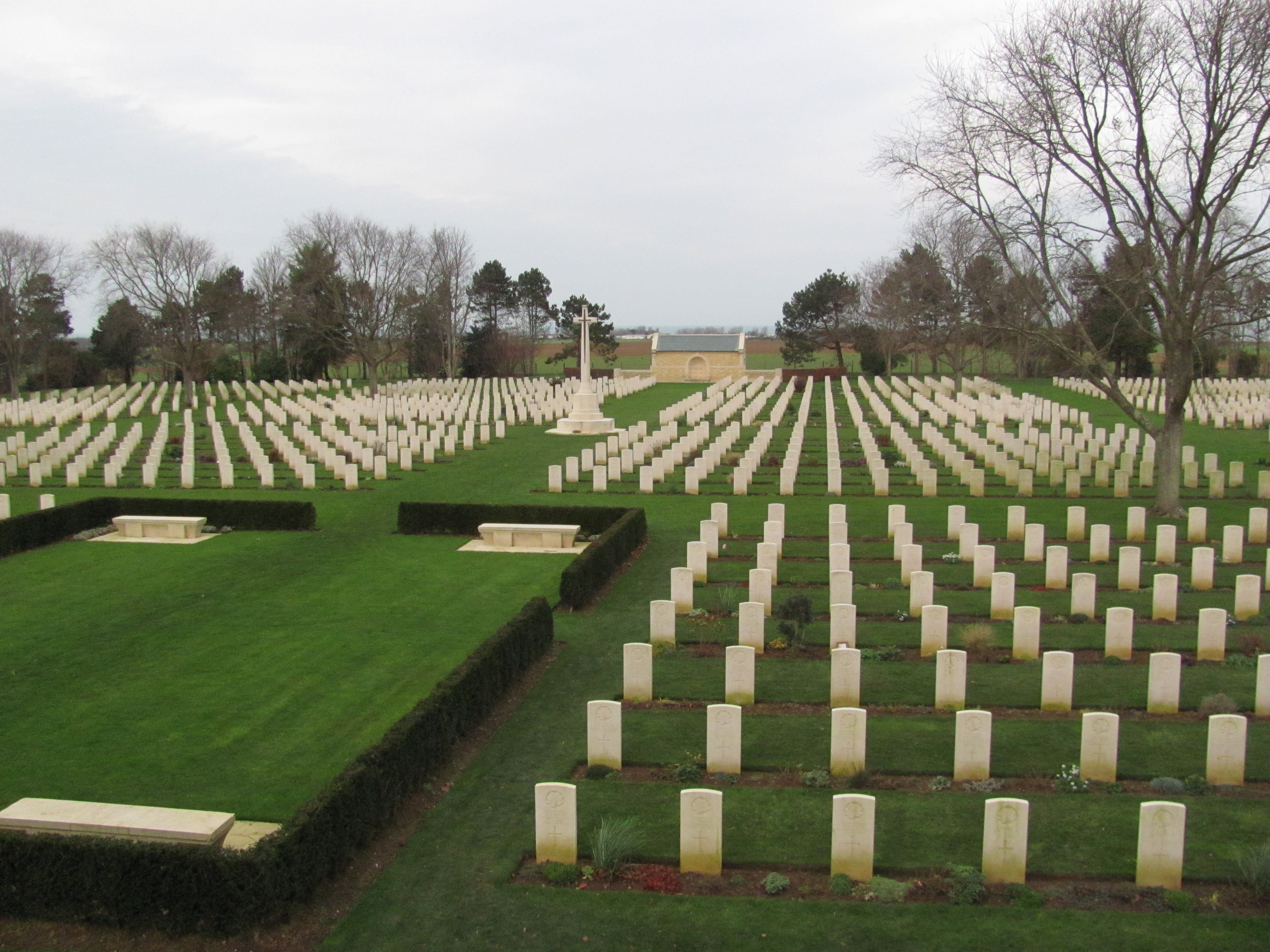 Canadian Cemetary at Beny-Sur-Mer