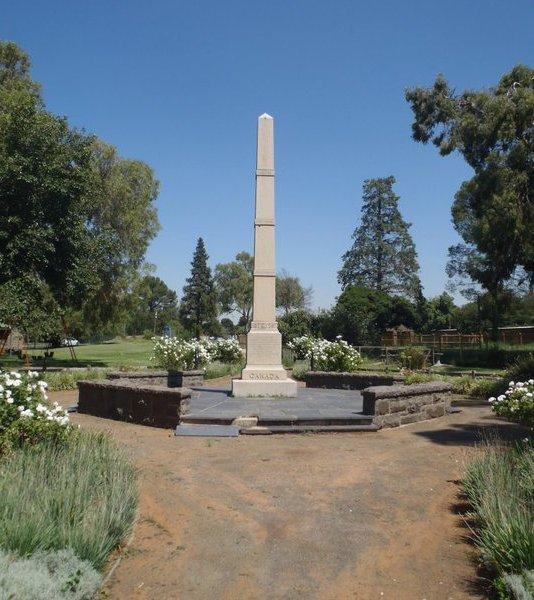 Bloemfontein Obelisk Monument, Boer War