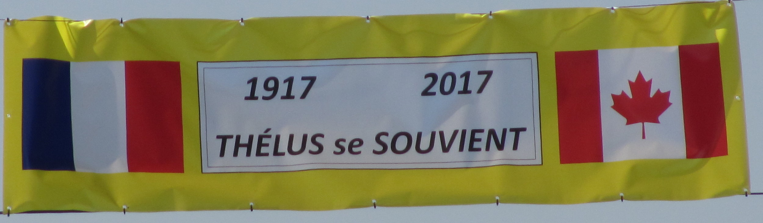 Thelus Remembers 1917 2017.