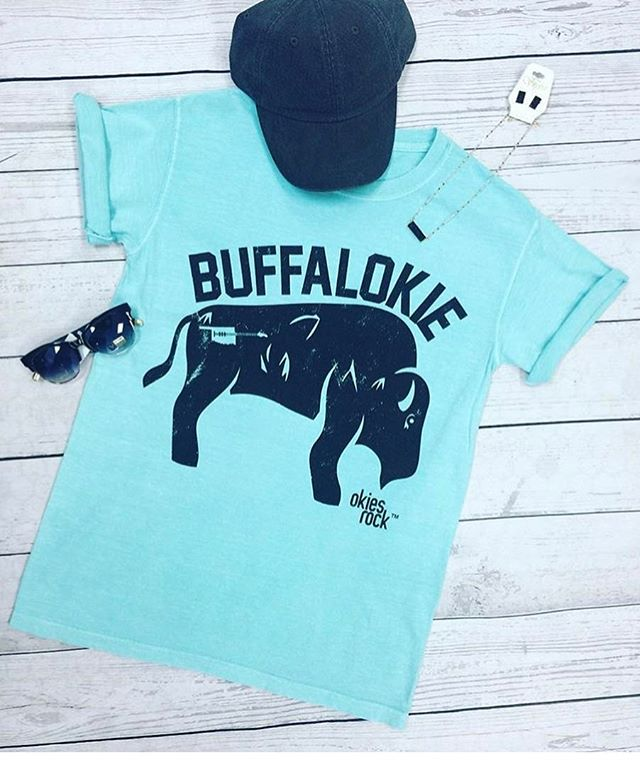 Who all is down with the BuffalOKIE?! #okiesrock #buffalokie