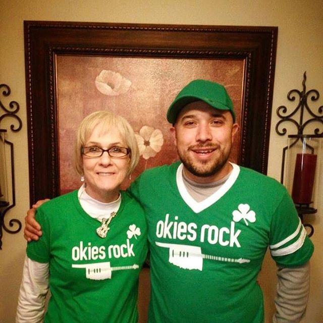 Happy St. Pat's Okies!!! #stpatricksday #okiesrock