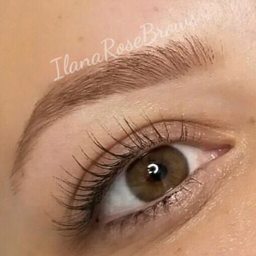 We love this soft and elegant brow by Ilana!