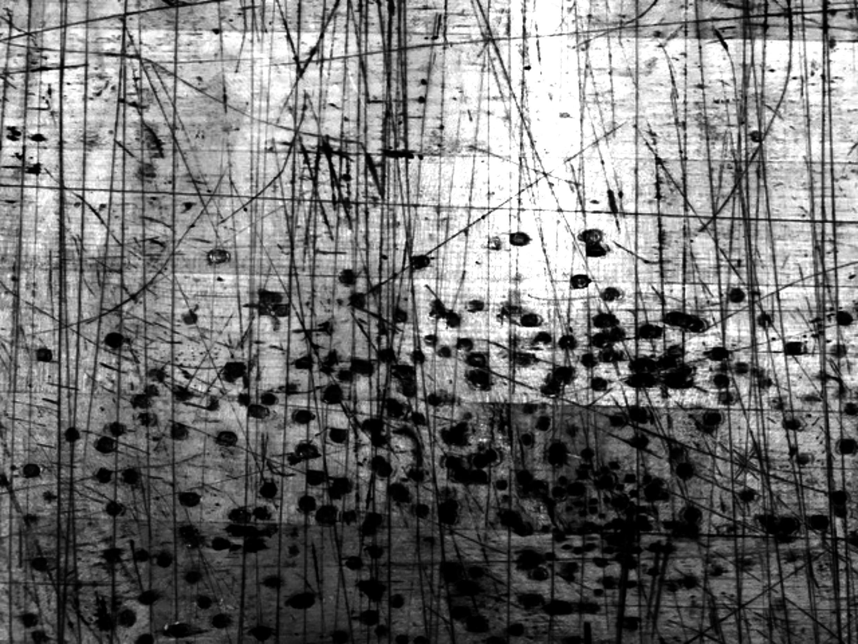 "Brian Kelly, ""Scraped Fields,"" archival pigment print, 2018"