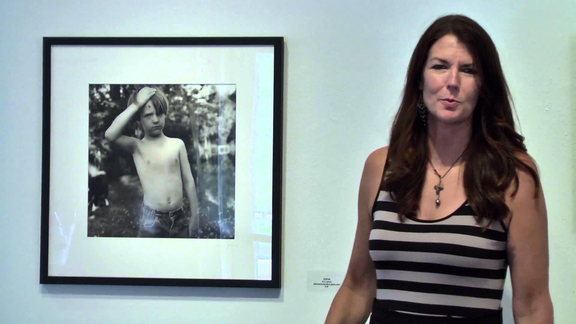 Photographer Amy James at a previous ARTiculate Artist Talk
