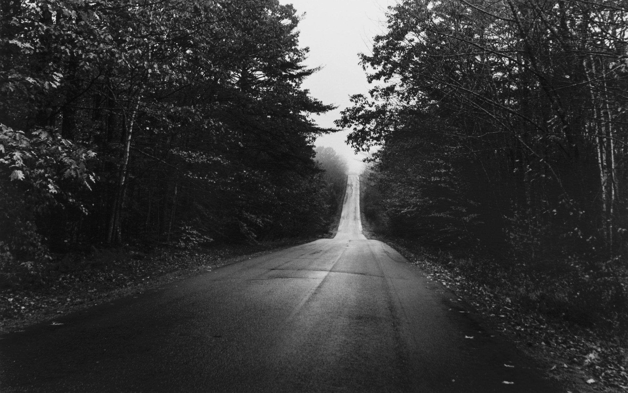 "Eleanor Owen Kerr, ""The Road to Hope,"" silver gelatin print, 20 x 24 in."