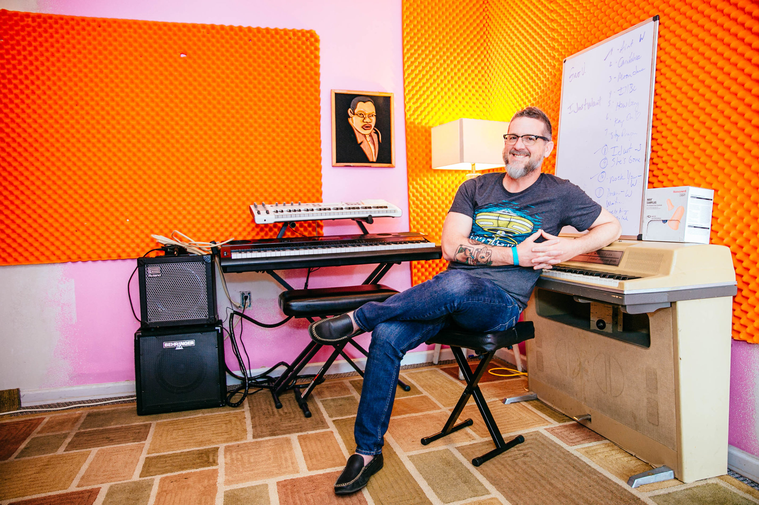 David Hinson of Adult Music Club