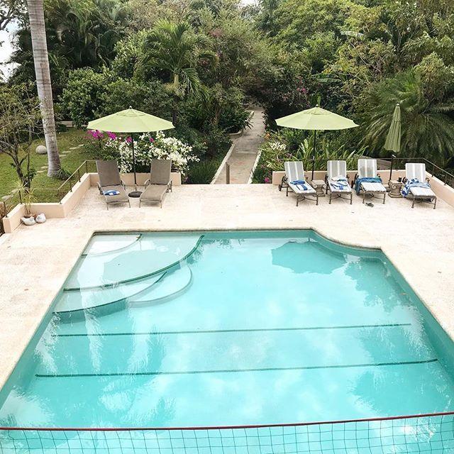 Ready for a dip? #haciendaalegremexico #oasis #tropicaloasis #tropicalvacation