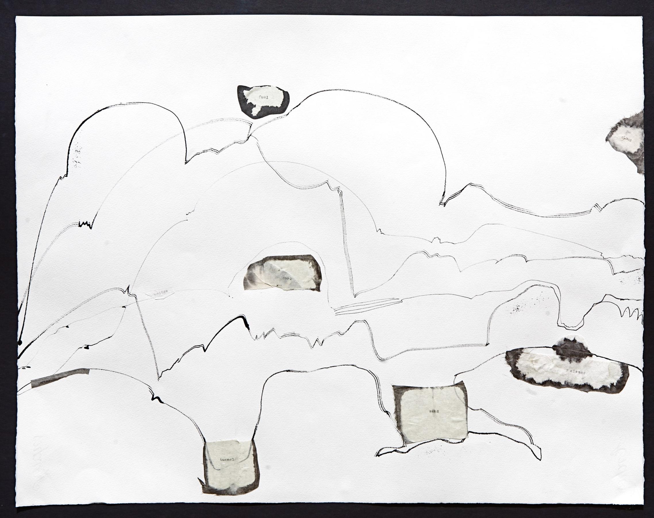 Named Land (2010) collage