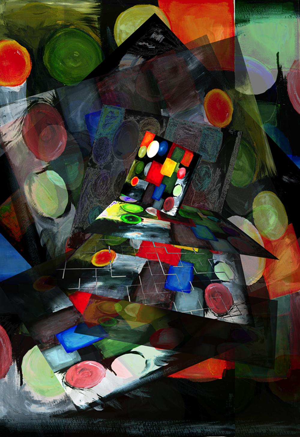 Intermediate Digital Design/Color Theory(College)