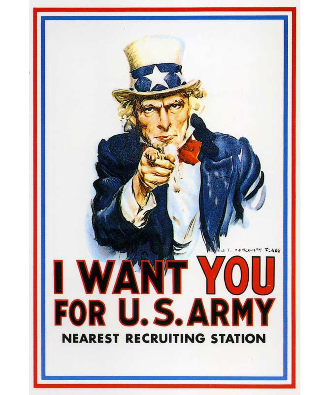 Uncle Sam, trade show consultant