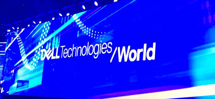 Dell tech world logo trade show consulting