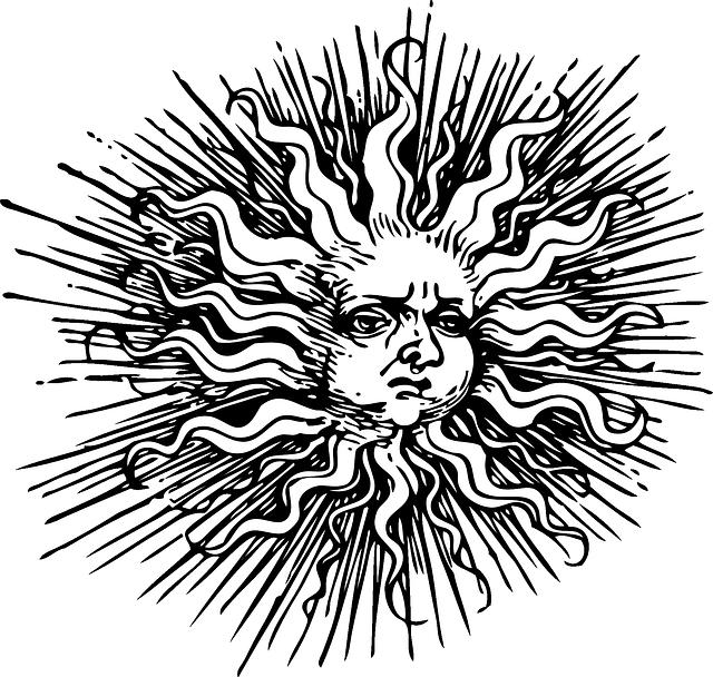 Img src: https://pixabay.com/en/sun-summer-solstice-pagan-29703/