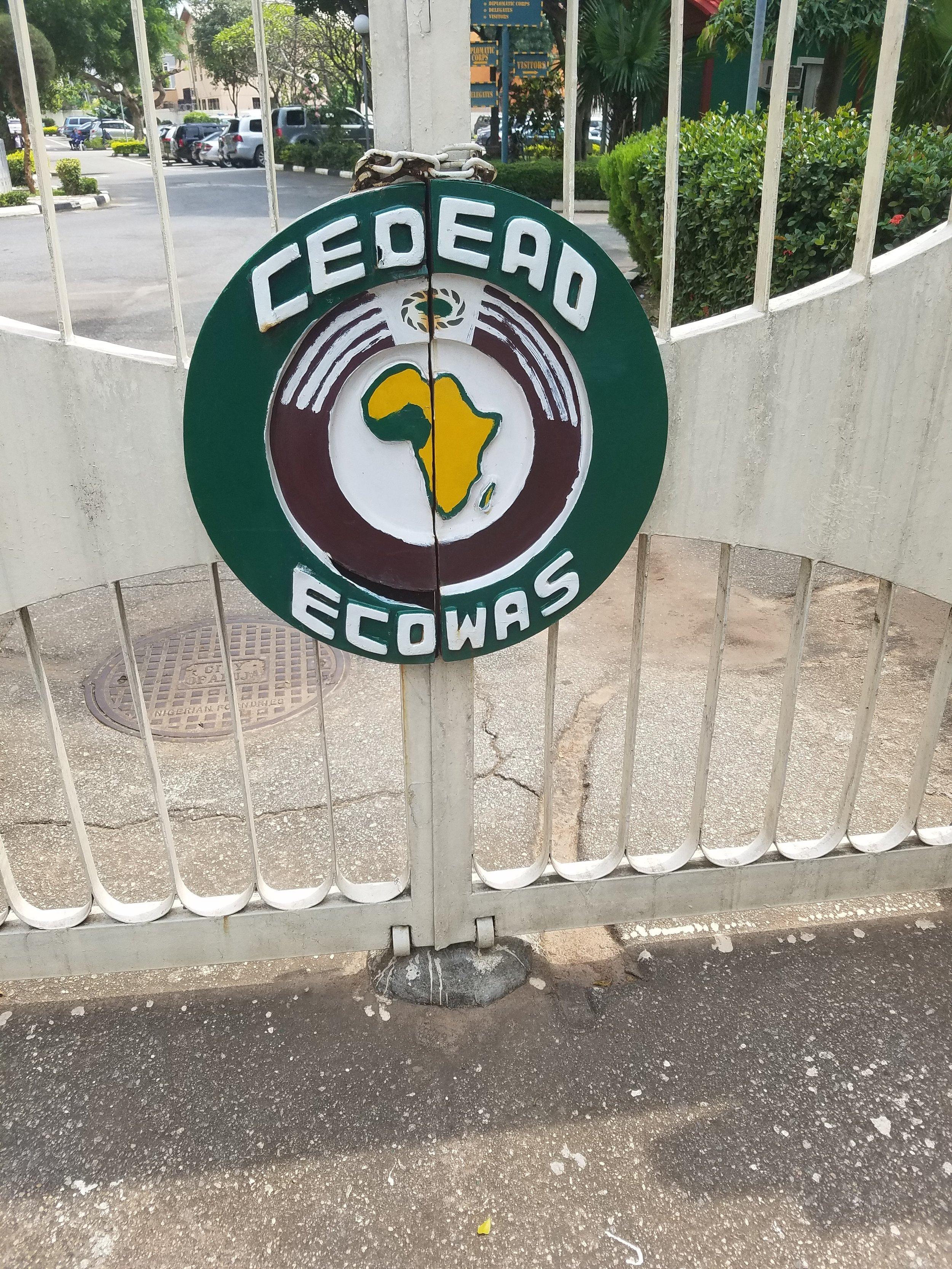 ECOWAS Secretariat, Abuja Nigeria Oct. 2016