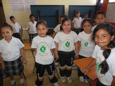 Bilingual School children