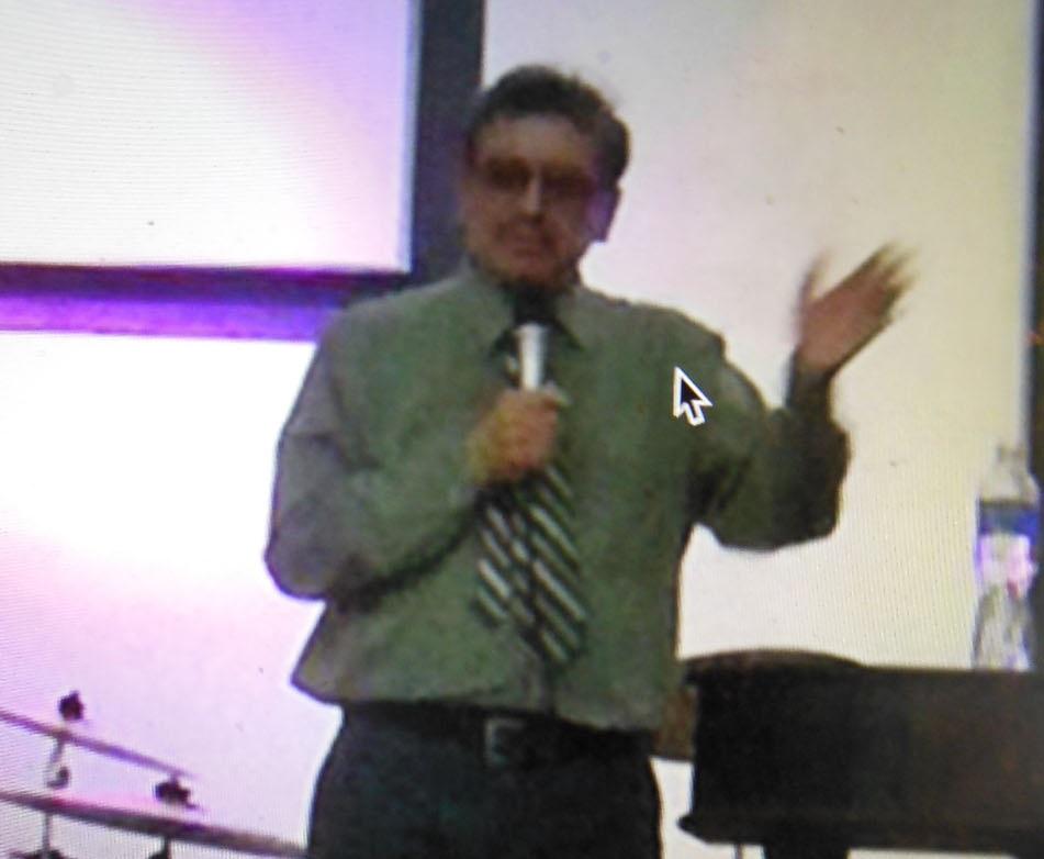 Erik Preaching