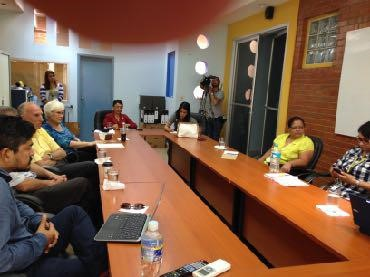 Meeting with the Academic Vice Rectora