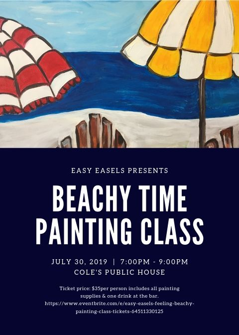 Easy Easels - Enjoy a fun night of painting & drinking!