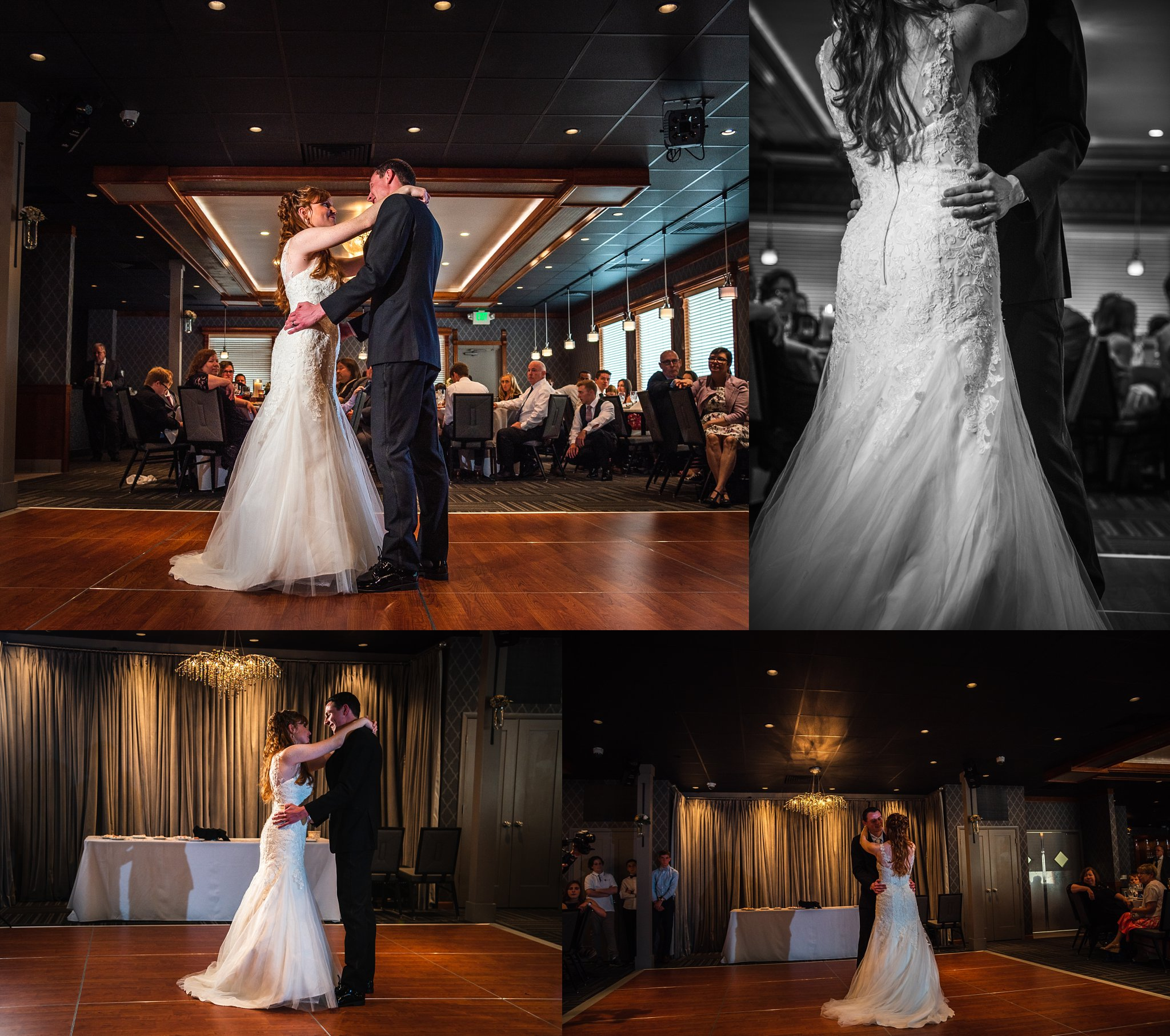 Sarah & Lucas held their wedding reception at The Supper Club, also in Niles, Michigan just 10 minutes away for the chapel.