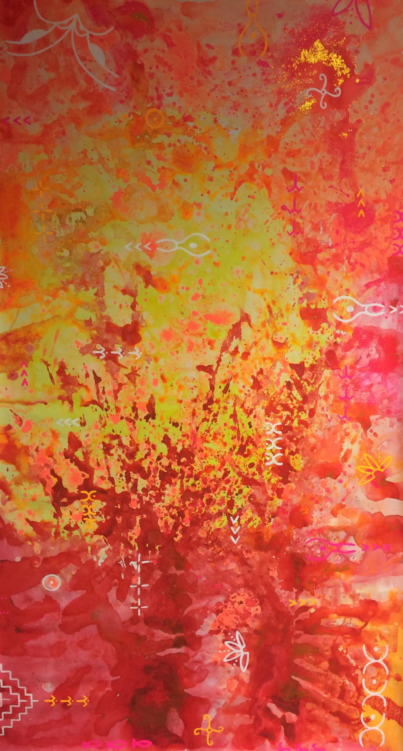 'Ngā tāngata o te rā' by Taryn Beri.