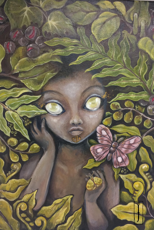 'Pūriri' by Isobel Joy Te Aho-White