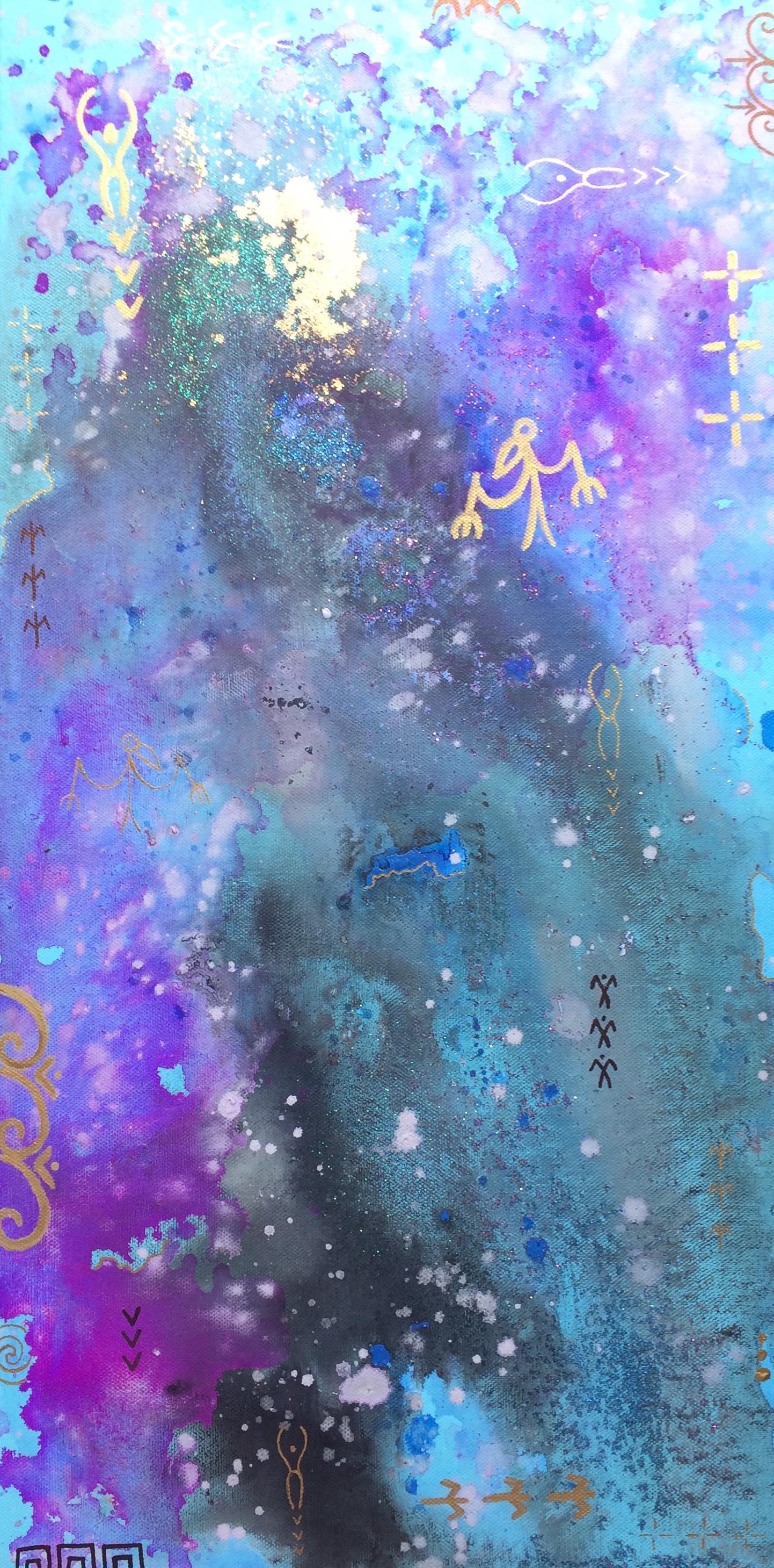 'Divine Origins III' by Taryn Beri.