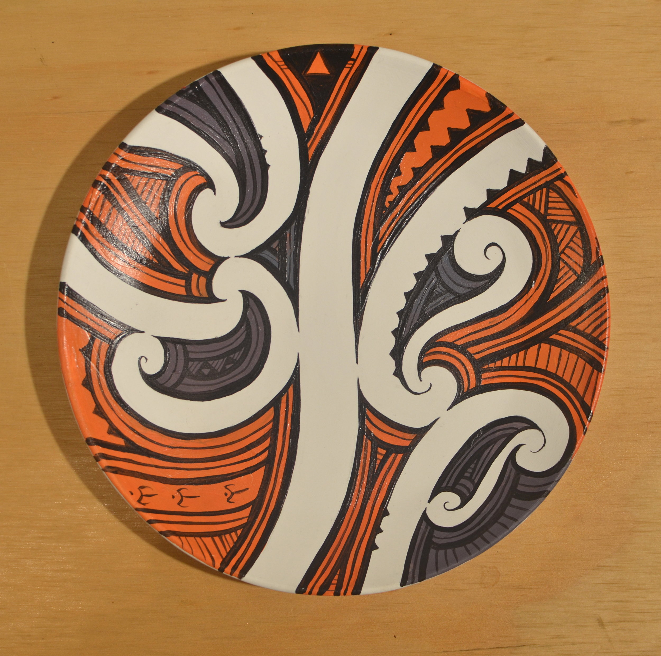 'Kowhaiwhai plate' by Miriama Grace-Smith.