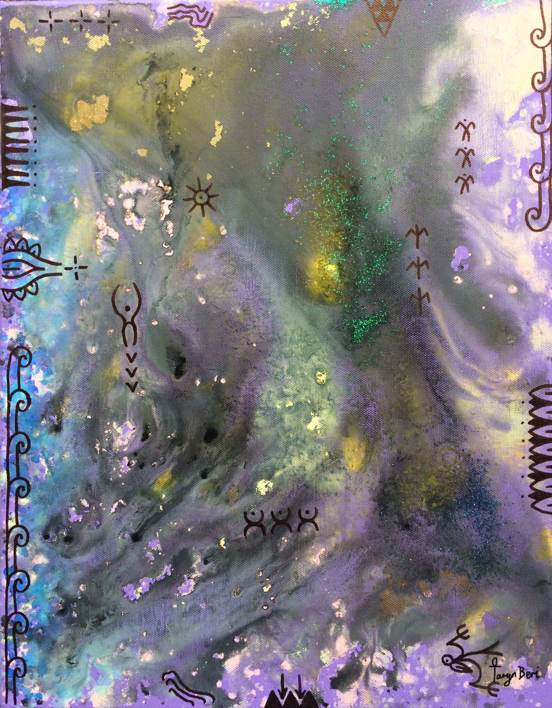 'Divine Origins X'  by Taryn Beri.