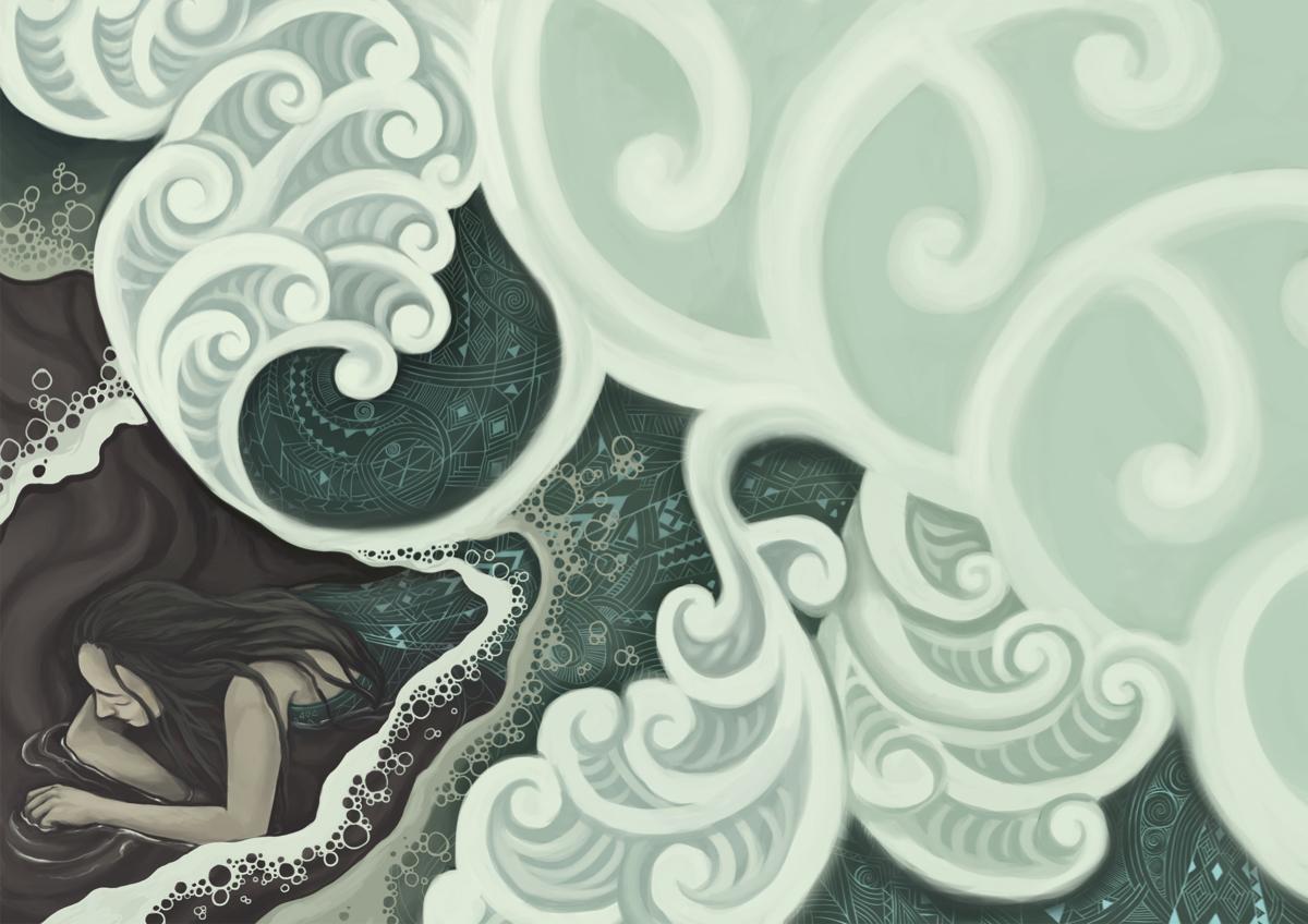 'Hinauri' by Isobel Joy Te Aho-White