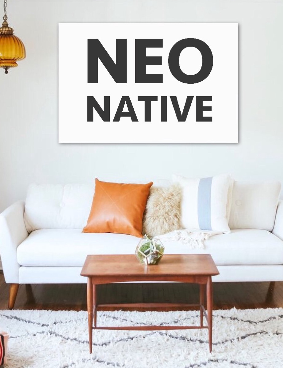 'Neo Native'  by Taryn Beri. Click   here   to purchase yours.