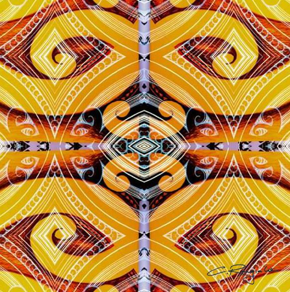 'Te Hononga'  by Carly Rangiaho. Click   here   to buy this work.