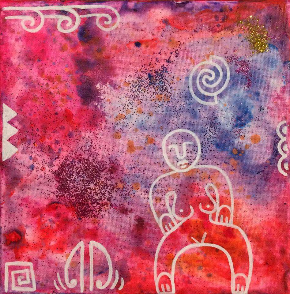 'Rise sister rise'  by Taryn Beri. Click   here   to learn more about this original artwork.