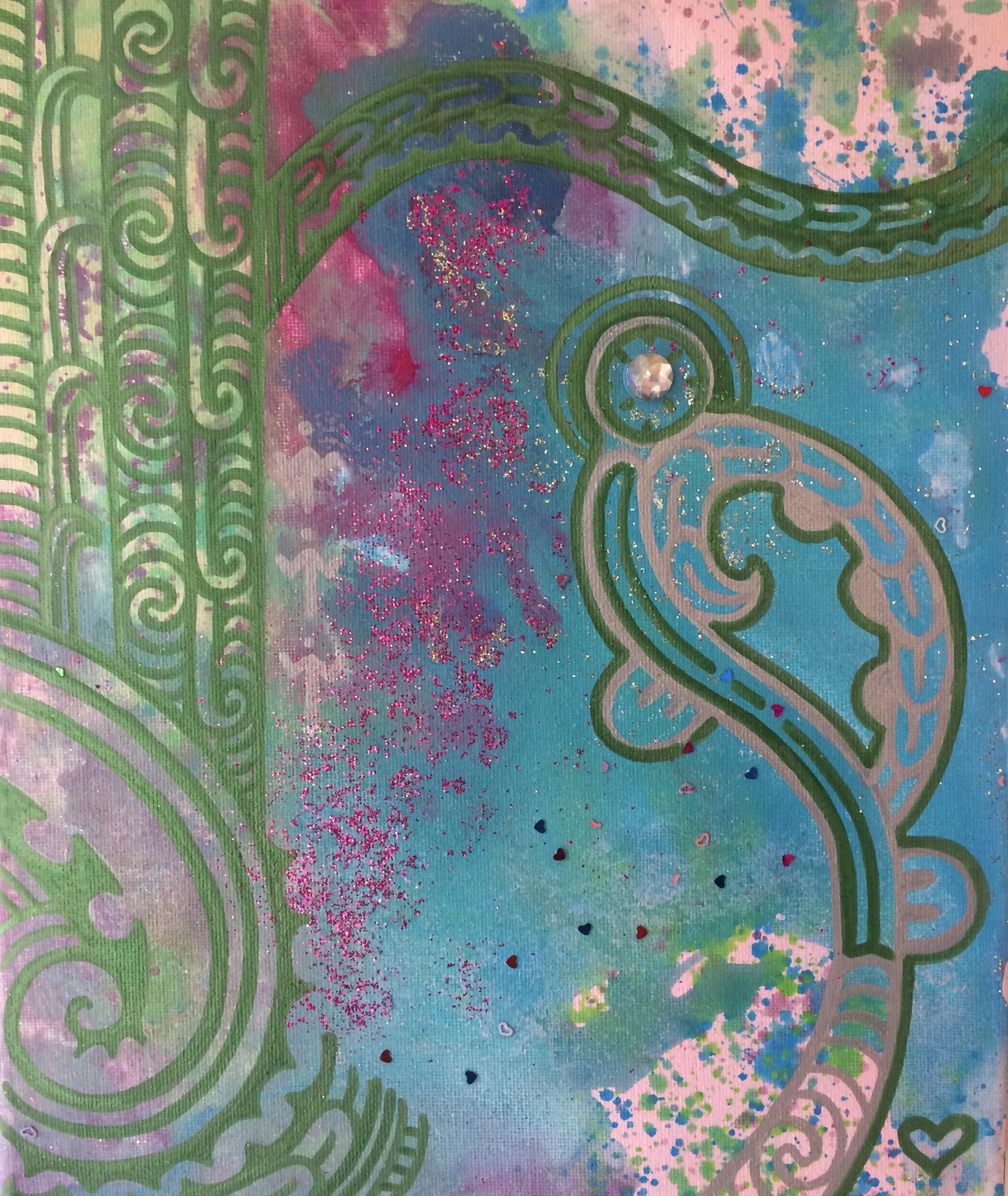 'Angels among us'  by Taryn Beri.