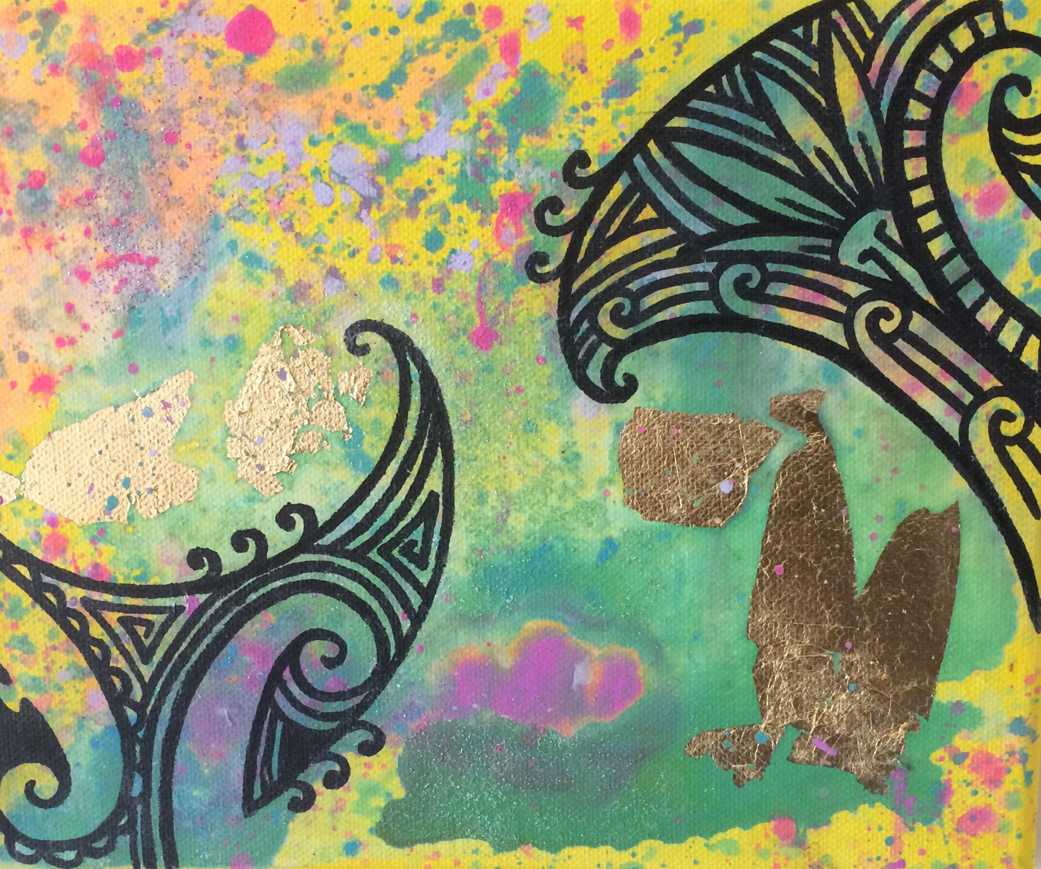 'Balance restored'  by Taryn Beri.
