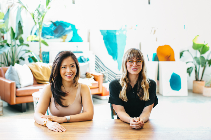 Michelle Wei and Heather Day | Studio Table