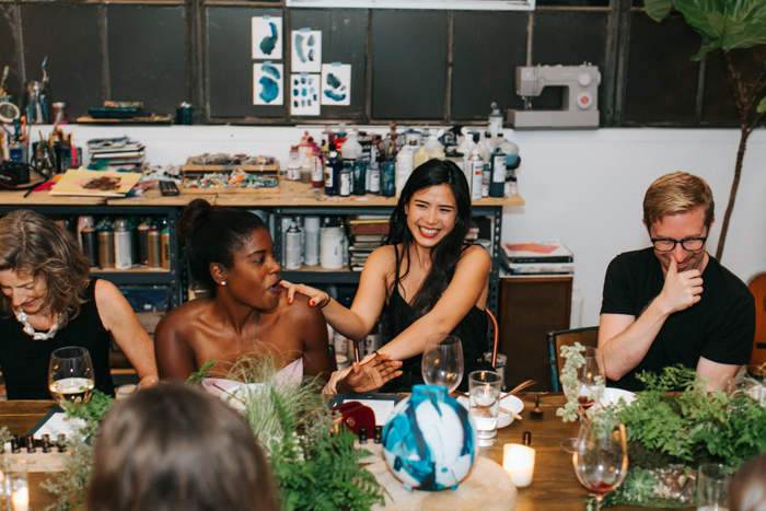 Tyra Fennell and Kelly Kong | Studio Table