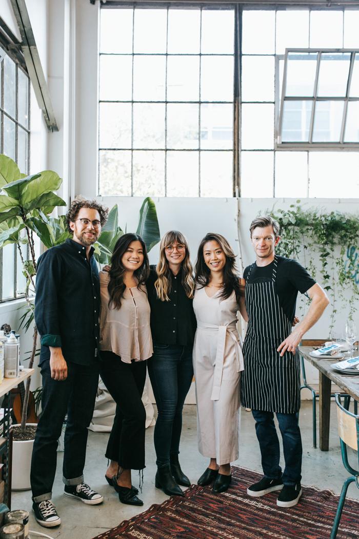 Will Haldean Brown, Lauren Midori Hsia, Heather Day, Michelle Wei, Ben Roche | Studio Table