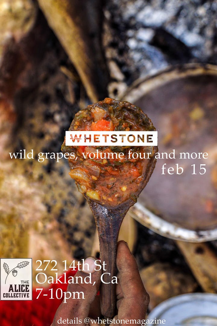 Wild Grapes  by Whetstone Magazine.