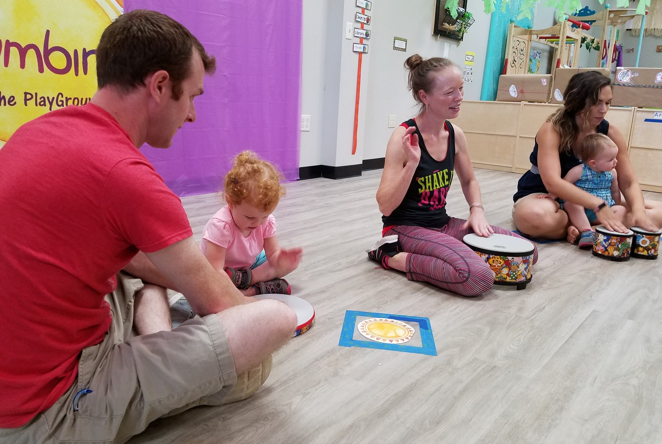 Caregivers and little learners grow TOGETHER through the Zumbini® program