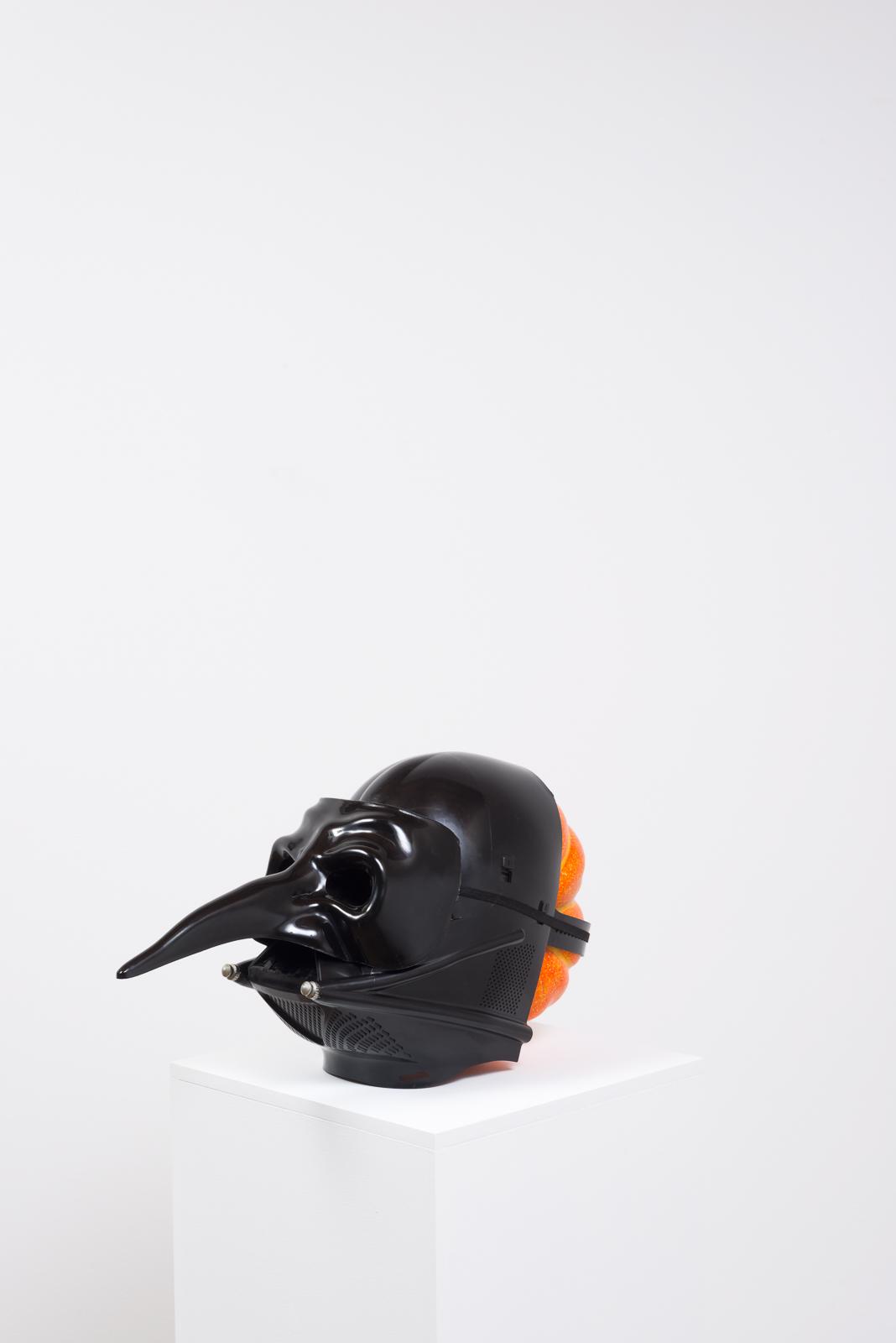 Pumpkin in a Mask in a Mask , 2017