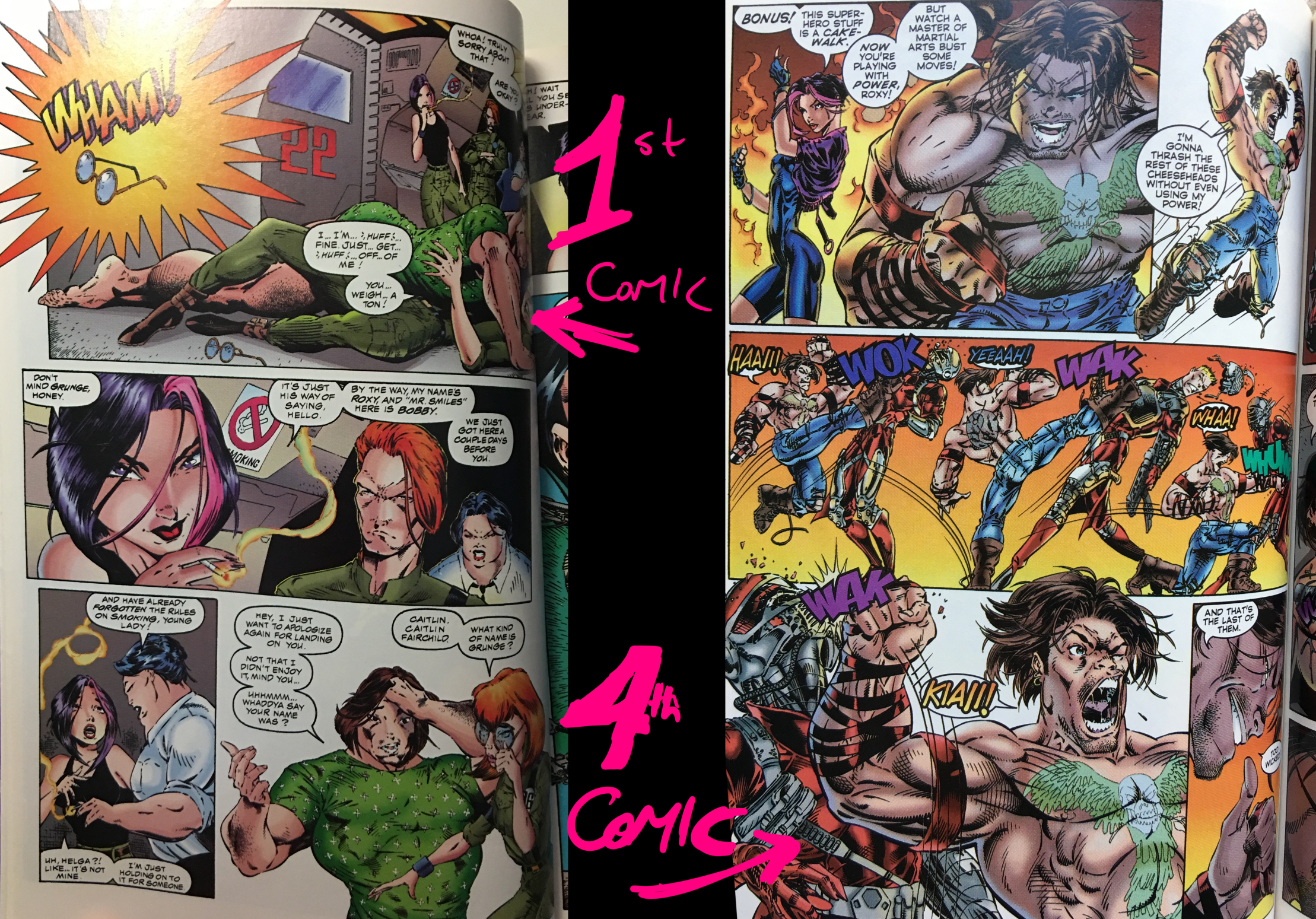 Gen13 - Comparing Issue #1 vs. #4