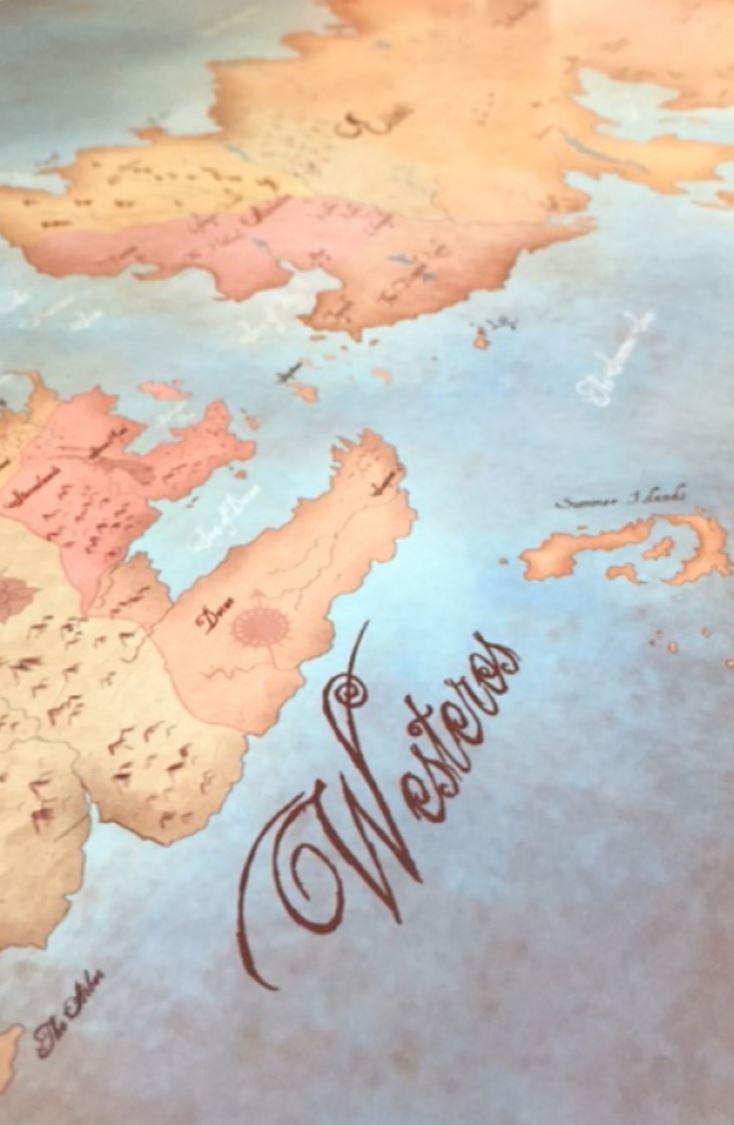 Map prints - Westeros (GOT)