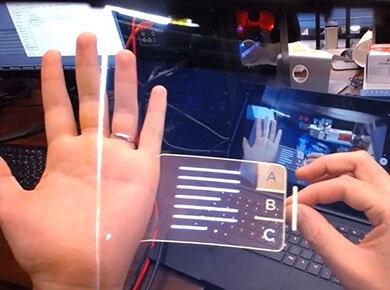 Ultraleap VR hand tracking