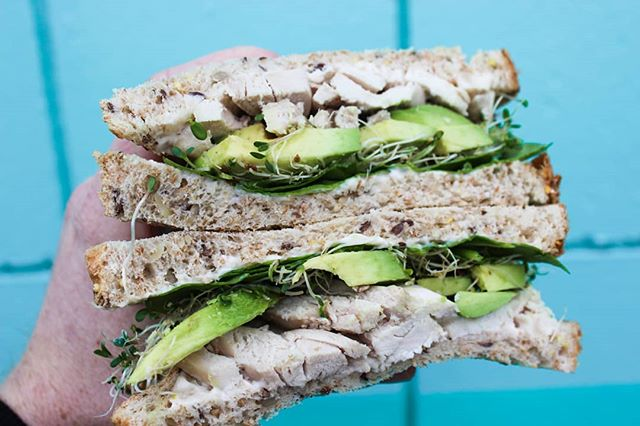 So chonky. Who needs one of these Chicken & Avocado sammies in their life right now? ☝️ . . . Grab us for lunch on Skip the Dishes and Food.ee! . . . #chicken #avocado #twotriangles #wholesale #vancouver #vancouverfood #vancity #vancityfoodie #vancityeats #yvr #yvrfood #yvrfoodie #yvrtreats #food #yummy #foodporn #instafood #delicious #foodie #eat #foodgasm #foodpic #snack #sandwich #sandwiches #recipe #foodphotography