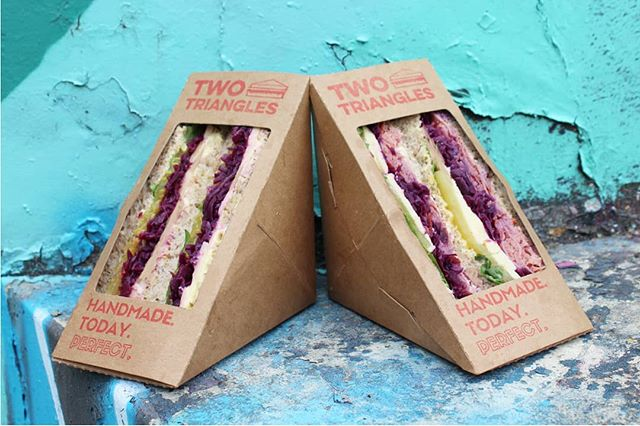 Aww, what a cute couple! Two Triangles are always better than one ;) . . . . . . . . . #twotriangles #wholesale #vancouver #vancouverfood #vancity #vancityfoodie #vancityeats #yvr #yvrfood #yvrfoodie #yvrtreats #food #yummy #foodporn #instafood #delicious #foodie #eat #foodgasm #foodpic #cooking #snack #nom #nomnom #nomnomnom #sandwich #sandwiches #recipe #foodphotography